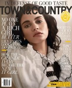 Lily James-                      Town & Country Magazine March 2016 Vincent Peters Photos MQ.