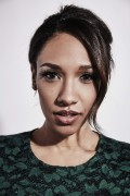 Candice Patton-                 Comic Con 2015 The Flash Portraits.