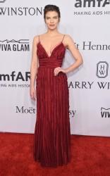 Lauren Cohan - 2016 amfAR New York Gala 2/10/16