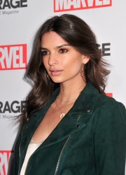 Emily Ratajkowski - Marvel And Garage Magazine New York Fashion Week Event 2/11/16