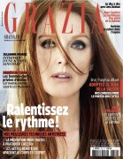 Julianne Moore -         Grazia Magazine (UK) February 12-18 2016 Brian Bowen Smith Photos.