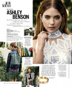 Ashley Benson-               Marie Claire March 2016.