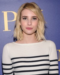 Emma Roberts - Polo Ralph Lauren Fall 2016 Presentation in NYC 2/12/16