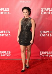 Demi Lovato - 2016 MusiCares Person of the Year Honoring Lionel Richie in LA 2/13/16