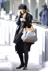 Olivia Wilde departing from JFK airport in Ney York on February 12, 2016