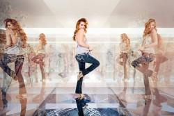 Bella Thorne en una campaña publicitaria de jeans  0a8f21465502126