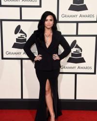 Demi Lovato - 58th GRAMMY Awards in LA 2/15/16