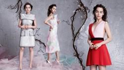 Emilia Clarke, Heidi Klum, Hilary Duff, Jennifer Lawrence, Kate Hudson, Sophia Thomalla (Wallpaper) 6x