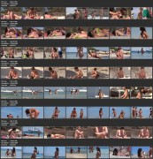 Girls Nude Nudist Beach Voyeur Ass Pussy Tits (NudeBeach sb15001-15008)