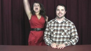 Milana Vayntrub - Mark Rigley Audition Fail 2