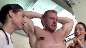 CFNMtv - Bodybuilder Blackmailed part 1-3 update