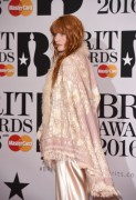 Florence Welch -               BRIT Awards London February 24th 2016.