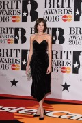 Alexa Chung-                         BRIT Awards London February 24th 2016.