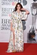 Lana Del Rey - 2016 BRIT Awards in London 2/24/16