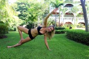Katrina Bowden-                 Planks And Pilates Photoshoot February 2016 (MQ).