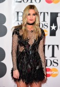 Laura Whitmore-                  BRIT Awards London February 24th 2016.