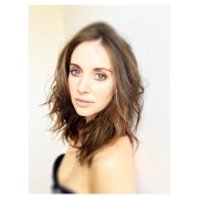 Alison Brie - Behind the scenes of upcoming Randall Slavin photoshoot
