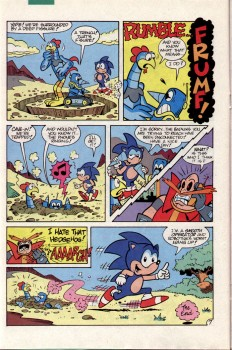 Sonic The Hedgehog Archie - Issue #2 B48e9f468271315