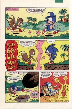 Sonic The Hedgehog Archie - Issue #2 Faaa1e468271278