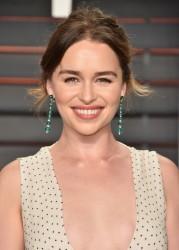 Emilia Clarke - 2016 Vanity Fair Oscar Party 2/28/16