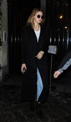Gigi Hadid - Arriving at Balmain Offices in Paris 3/2/16