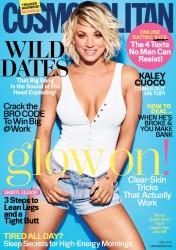 Kaley Cuoco - Cosmopolitan April 2016