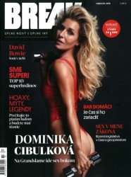 Dominika Cibulkova in Break magazine x6