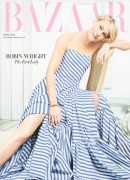 Robin Wright -                Harper's Bazaar Magazine (UK) April 2016 David Slijper Photos.