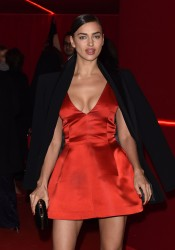 Irina Shayk @ L'Oreal Red Obsession Party In Paris March 8, 2016