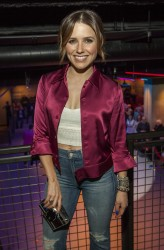 Sophia Bush at the Grand Opening of the SPiN Ping-Pong Social Club in Chicago - 3/10/16
