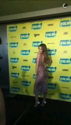 Bella Thorne en un estreno en Austin (14/3/16) C84075471763612